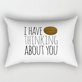 I've Bean Thinking About You Rectangular Pillow
