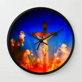 C'est fini ... By LadyShalene Wall Clock
