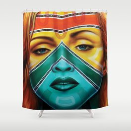 Esther, Inspired by Madonna Shower Curtain