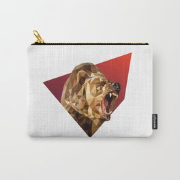Low Poly Bear Carry-All Pouch