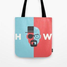 Walter White + Heisenberg Tote Bag
