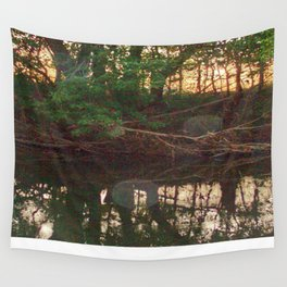 Orb Reflections Wall Tapestry
