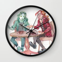 Is this how you humans eat? Wall Clock