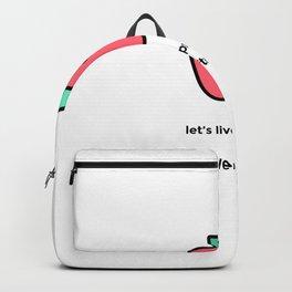 JUST A PUNNY APPLE JOKE! Backpack