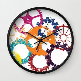 Industrial 2 Wall Clock