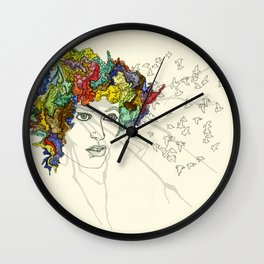 SplatterHead. Wall Clock