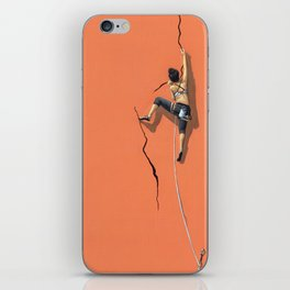 Climbing: Solitude iPhone Skin