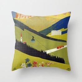 Alto Adige South Tyrol Throw Pillow