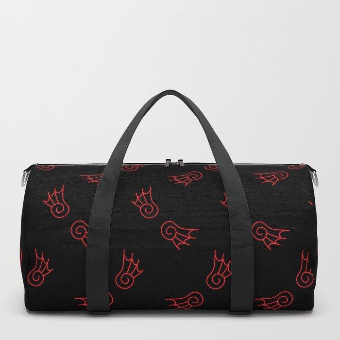 Chibi Demon Wings Duffle Bag