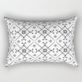sad shore Rectangular Pillow