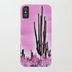 Wild Cactus iPhone X Slim Case