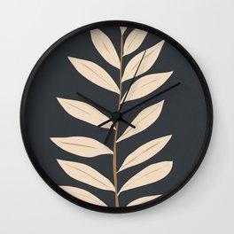Minimal Art /Plant2 Wall Clock