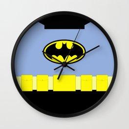 Bat Man - Superhero Wall Clock