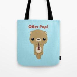 Kawaii Otter  Tote Bag