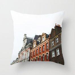 Swedenborg House, London Throw Pillow