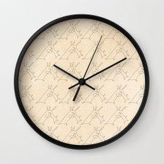 Scribbled Unicorn V3 Wall Clock