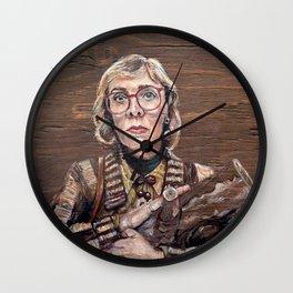 Log Lady / Twin Peaks Wall Clock
