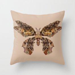 moth Throw Pillow