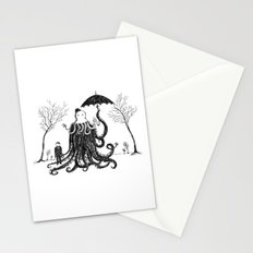 Young Master Lovecraft Finds A Friend Stationery Cards