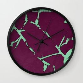 2020 Fall/Winter 09 Magenta Wall Clock