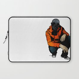 Waiting For (Inevitable) Trouble Laptop Sleeve