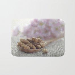 almond kernels Bath Mat