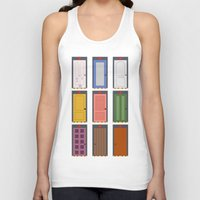 doors Tank Tops featuring Scary Doors by Raquel Segal
