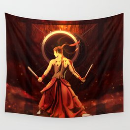 Let's drum! Wall Tapestry