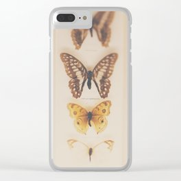 Change ... from caterpillars to butterflies Clear iPhone Case