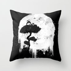 Midnight Spirits Throw Pillow