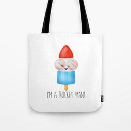 I'm A Rocket Man! - Popsicle Tote Bag
