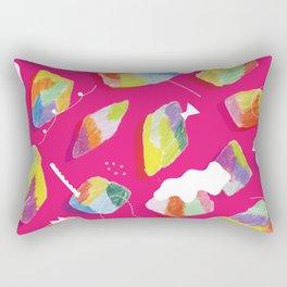to go pleasantly  Rectangular Pillow