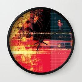 X Machina #2 Wall Clock