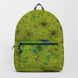 Stardust  Green Alien Backpack