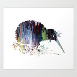Kiwi Art Print