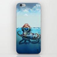 nemo iPhone & iPod Skins featuring Nemo by Tony Vazquez