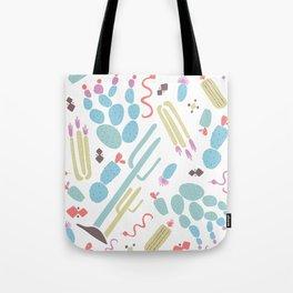 Desert Print Tote Bag