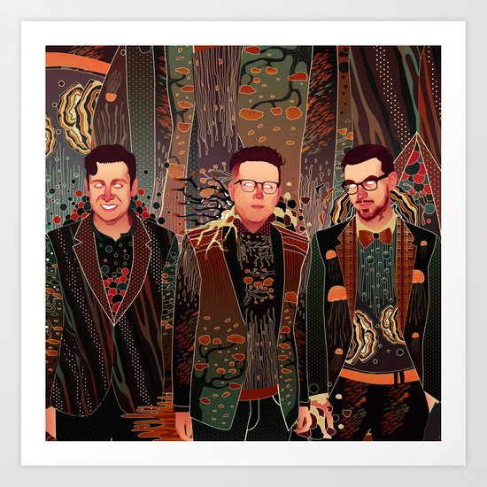 Two Door Cinema Club Art Print