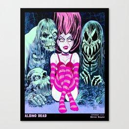 Albino Dead Canvas Print