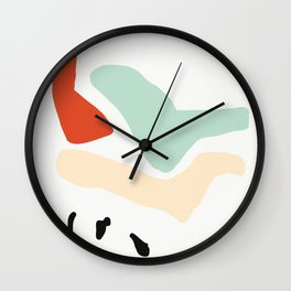Matisse Shapes 5 Wall Clock
