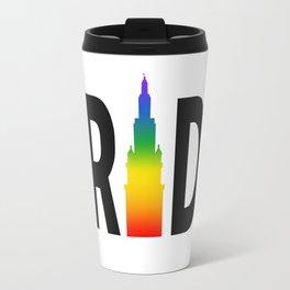 Cleveland Gay Pride Terminal Tower Travel Mug