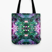 kaleidoscope Tote Bags featuring Kaleidoscope by Mark Kriegh