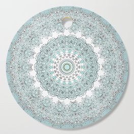 Mandala - Boho - Sacred Geometry - Pastels - Cutting Board