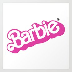 Barbie Girl Art Print