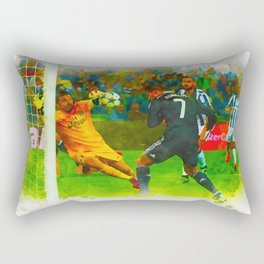 Cristiano Ronaldo - Job Done Rectangular Pillow