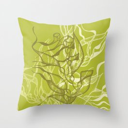 Kelp Forest 3 Throw Pillow