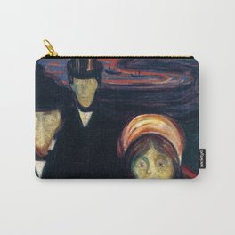 Edvard Munch - Anxiety Carry-All Pouch