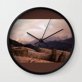 Autumn comes Wall Clock
