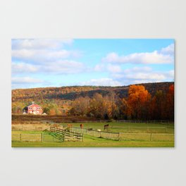 Fall Colors In The Finger Lakes Canvas Print