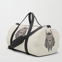 Anubis face Duffle Bag